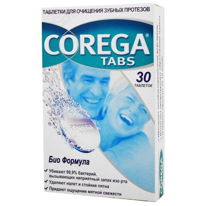 Таблетки для дезинфекции протезов