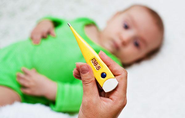 Снять температуру у ребенка в домашних условиях