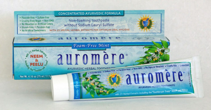 Зубная паста Ауромере фото