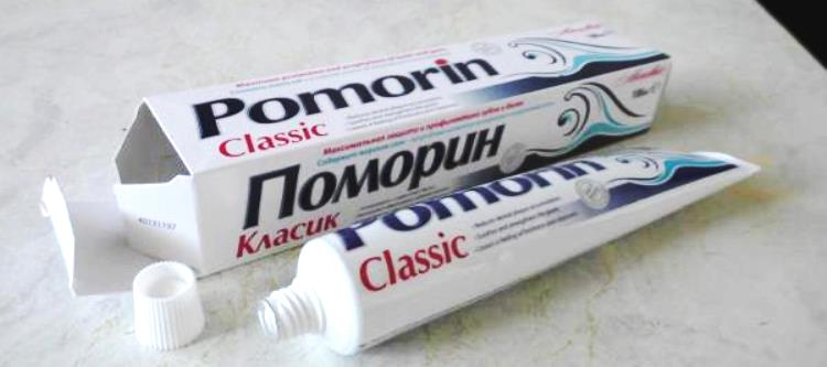 Зубная паста Поморин фото