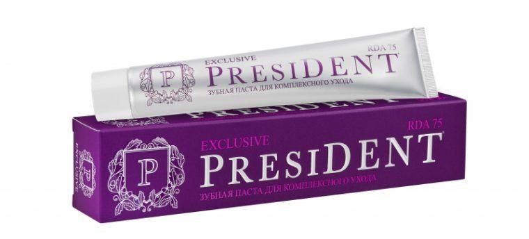 Президнт - зубная паста president фото