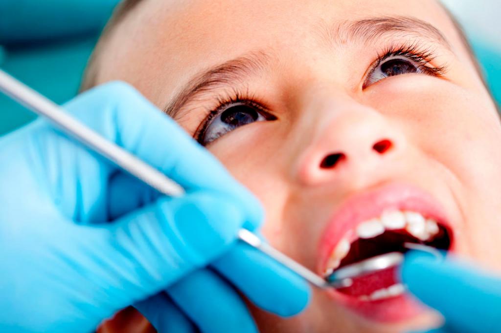 Уход за зубами у детей фото
